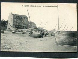 CPA - SAINT JACUT DE LA MER - Le Châtelet à Marée Basse - Bateaux De Pêche - Saint-Jacut-de-la-Mer