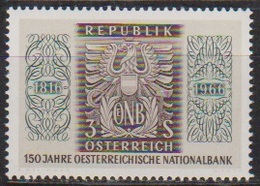 Österreich 1966 Nr.1207  ** Postfr. 150 Jahre Österreichische Nationalbank ( 8710) Günstige Versandkosten - 1961-70 Ungebraucht