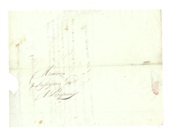 Lettre D'Angoulème (16) Adressée à Mr.Lapeyriere De PERIGUEUX Le 11 Messidor An 11 - Augmentation De La Faïence - (fr81) - 1800 – 1899