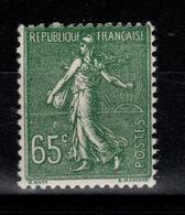 YV 234 N** Semeuse Cote 16 Euros - Unused Stamps
