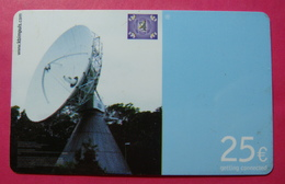 Serie BW-62-04...7, German Army In Kosovo Prepaid Phone CARD 25 Euro Used Operator KBIMPULS *Satellite* - Kosovo