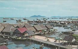PENANG , Malaysia , 50-60s Sea Side Village - Malaysia