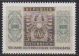 Österreich 1966 Nr.1207  ** Postfr. 150 Jahre Österreichische Nationalbank ( 8711) Günstige Versandkosten - 1961-70 Ungebraucht