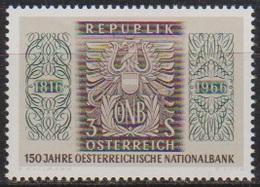 Österreich 1966 Nr.1207  ** Postfr. 150 Jahre Österreichische Nationalbank ( 8712) Günstige Versandkosten - 1961-70 Ungebraucht