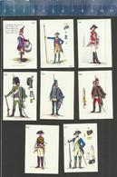HISTORICAL UNIFORMS - W. F. KAPPES 1970 - German Matchbox Labels GERMANY - Boites D'allumettes - Etiquettes
