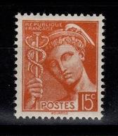 YV 409 N** Mercure Cote 1,25 Euros - Unused Stamps