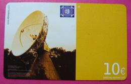 Serie B-59-0...4, German Army In Kosovo Prepaid Phone CARD 10 Euro Used Operator KBIMPULS *Satellite* - Kosovo