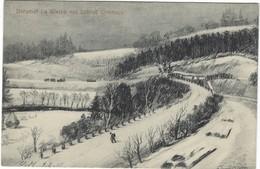 CPA - Bahnhof La Gare - La Gleize - Cheneux   - Allemande Feldpost 1914   Lüttich 1915 - Zonder Classificatie