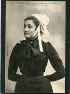 CPA - Karten Bost - Jeune Fille De SAINT JACUT DE LA MER  (dos Non Divisé) - Saint-Jacut-de-la-Mer