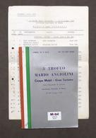 3° Trofeo Mario Angiolini - Coppa Mobil - Autodromo Monza - 1968 - Regolamento - Altri