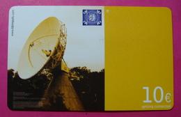 Serie B-59-0...1, German Army In Kosovo Prepaid Phone CARD 10 Euro Used Operator KBIMPULS *Satellite* - Kosovo