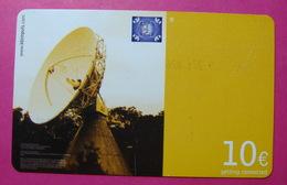 Serie B-59-0...0, German Army In Kosovo Prepaid Phone CARD 10 Euro Used Operator KBIMPULS *Satellite* - Kosovo