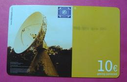 Serie B-49-0...7, German Army In Kosovo Prepaid Phone CARD 10 Euro Used Operator KBIMPULS *Satellite* - Kosovo