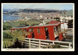 C1685 NEW ZEALAND - WELLINGTON - CABLE CAR 1962 (WITHOUT STAMP) - Nuova Zelanda