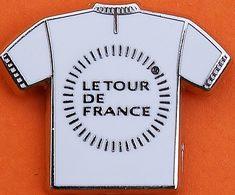 LL...349...signé ARTHUS BERTRAND........LE TOUR DE FRANCE .....MAILLOT BLANC - Arthus Bertrand