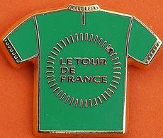 LL...350...signé ARTHUS BERTRAND........LE TOUR DE FRANCE .....MAILLOT VERT - Arthus Bertrand