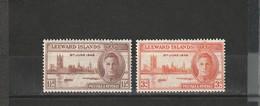 Leeward Neuf *  1946  N° 102/103  Anniversaire De La Victoire - Leeward  Islands