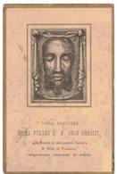 VERA EFFIGIES SACRI VULTUS D.N. JESUS CHRISTI PRIERE Mr DUPONT IMAGE PIEUSE RELIGIEUSE  HOLY CARD SANTINI HEILIG PRENTJE - Devotion Images