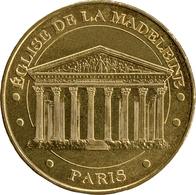 75008 PARIS ÉGLISE DE LA MADELEINE N°2 MÉDAILLE MONNAIE DE PARIS 2019 JETON MEDALS TOKENS COINS - 2019