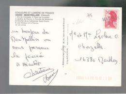 """Oblit. () Griffe Linéaire D'arrivée """"Marthon - 16-211"""" - Manual Postmarks"""