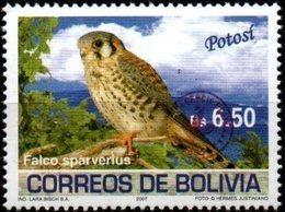 Bolivia 2018 ** CEFIBOL 2356 Falco Sparverius  Emision ECOBOL 2007 Habilitadas Para Uso En Tarija. - Bolivia