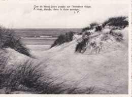 De Haan Aan Zee - Coq Sur Mer - Tekst Van - Texte De J P - Pas Circulé - Nels - TBE - De Haan