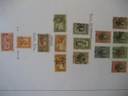 Bulgarien 1901/1911- Fürst Ferdinand Aus Satz Mi. 50-61, Zar Ferdinand Aus Satz Mi. 78-89 - Used Stamps