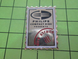 313i Pins Pin's / Rare & Belle Qualité THEME POSTES / TIMBRE POSTE  PHILIPS COMPACT DISC DIRE STRAITS - Mail Services