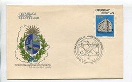 URUGUAY - UPAE, UNION POSTAL DE LAS AMERICAS Y ESPAÑA. AÑO 1983, SOBRE PRIMER DIA ENVELOPE FDC - LILHU - Uruguay