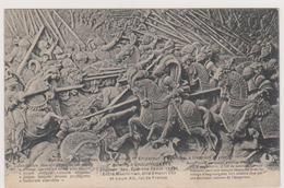 62 ENGUINEGATTE - Bataille Des Eperons Bas Relief Tombeau De Maximilien 1er Empereur Autriche Inspruck - CPA 9x14 N/B BE - France