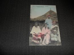 Afrique ( 12 ) Occidentale  Africa  Afrika  : Sénégal  Dakar  Famille Ouolof  - Femme Aux Seins Nus  Nu  Nude - Sénégal
