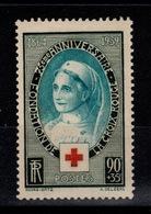 YV 422 N** Croix Rouge Cote 17 Euros - Unused Stamps