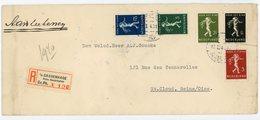 PAYS BAS ENV 1940 GRAVENHAGE LETTRE RECOMMANDEE => FRANCE - Periode 1891-1948 (Wilhelmina)