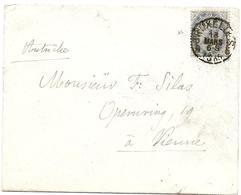 LE 0016 - N° 40 Càd BRUXELLES 5 - 16 MARS 1885 S/petite Lettre V. VIENNE (AUTRICHE). TB - 1883 Leopoldo II
