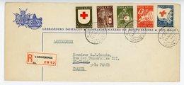 PAYS BAS ENV 1953 GRAVENHAGE LETTRE RECOMMANDEE => FRANCE - 1949-1980 (Juliana)