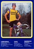 JACOBS Jos B (Vosselaar (Antwerpen, 28-1-'53) 1979 IJsboerke - Gios - Warncke Eis Met HANDTEKENING/SIGNED! - Radsport