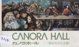 Télécarte Japon * ART  (2213) PANORA HALL  * Japan Painting * Phonecard * KUNST * Telefonkarte - Pittura