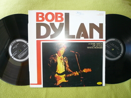 Bob Dylan 33tx2 Vinyles A Rare Batch Of Little White Wonder - Collector's Editions