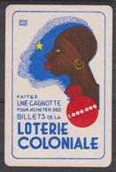 DOS Cartes à Jouer Classique (as De Cœur) - PUB  LOTERIE COLONIALE - Cartes à Jouer Classiques