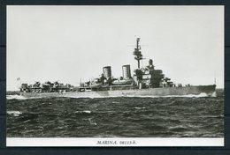 """Sweden """"Gotland"""" Warship Postcard - Warships"""