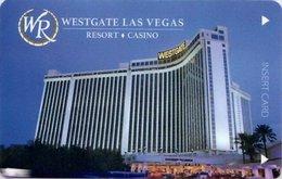 Westgate-Las-Vegas[1867]- ----Hotel--key Card, Room Key, Schlusselkarte, Hotelkart - Hotel Keycards