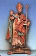 San Nicola Manfredi BN - Santino Plastificato SAN NICOLA VESCOVO, Santuario S. Maria Del Fosso - OTTIMO R12 - Religione & Esoterismo