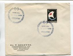 ARGENTINA - CONGRESO INTERNACIONAL ODONTOLOGICO ARGENTINO URUGUAYO. AÑO 1959, SOBRE SPC ENVELOPE - LILHU - Medicina
