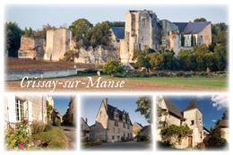 CRISSAY SUR MANSE Un Des Plus Beaux Villages De France - Autres Communes