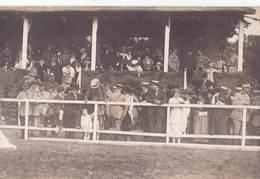 Carte Photo Hippisme : Janzé (35) Hippodrome De La Tullaye    Tribunes   Circa 1920 - Sports