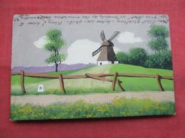 Hain Painted  Hamburg Stamp & Cancel    Ref 3486 - Germany