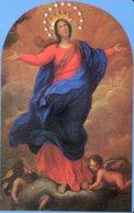 Collestrada PG - Santino Plastificato MARIA ASSUNTA IN CIELO, Parrocchia - OTTIMO R12 - Religione & Esoterismo