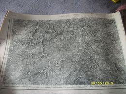 3 Cartes:1 Carte De CORTE N° 263 De 1937 - Cartes Topographiques