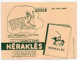 - BUVARD CAHIERS & COPIES HÉRAKLÈS - ASSYRIE - - Stationeries (flat Articles)