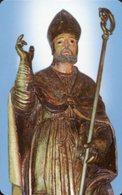 Nocera Inferiore SA - Santino Plastificato SAN PRISCO, Patrono Della Diocesi Di Nocera, Cattedrale - OTTIMO R12 - Religione & Esoterismo